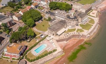 Drone and aerial photography for Paignton Hotel
